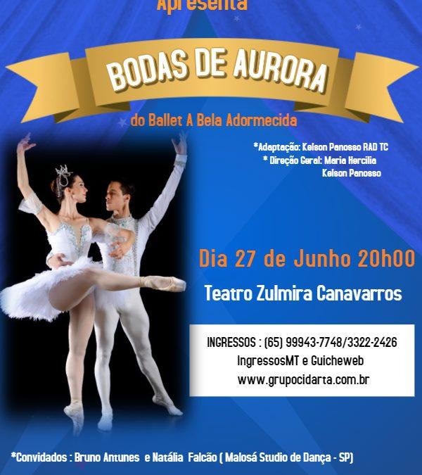 "Espetáculo ""Bodas de Aurora""2019 se apresenta no Zulmira Canavarros."