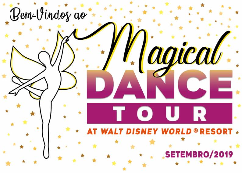 Convidados Especiais no 1º Magical Dance Tour at Walt Disney Word
