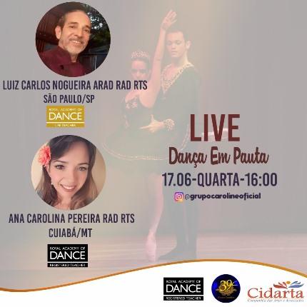 Live Dança em Pauta/ Luiz ARAD!