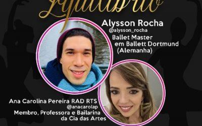 Bailarino internacional participa de bate papo com Grupo de Dança/ MT