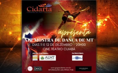XIII Mostra de Dança de Mato Grosso começa nesta semana